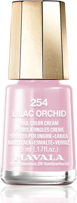 Mavala Лак для ногтей Lilac Orchid основа под лак mavala 002 5 мл