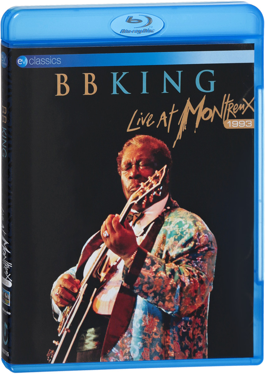 B.B. King. Live At Montreux 1993 (Blu-Ray) моуз эллисон mose allison transfiguration of hiram brown creek bank i love the life i live v 8 ford blues young man mose 2 cd