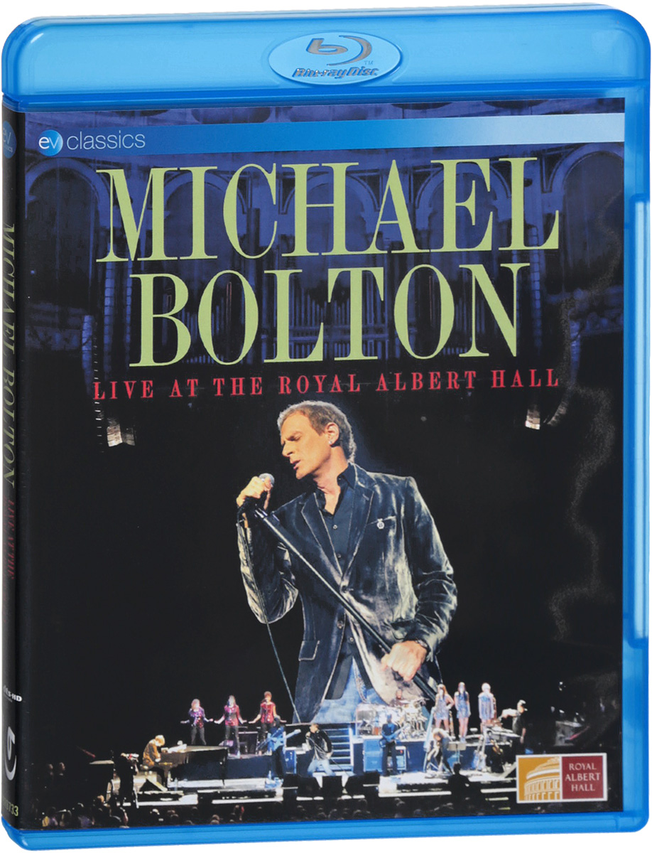 Michael Bolton. Live At The Royal Albert Hall (Blu-Ray) bruce foxton live at the camden palace