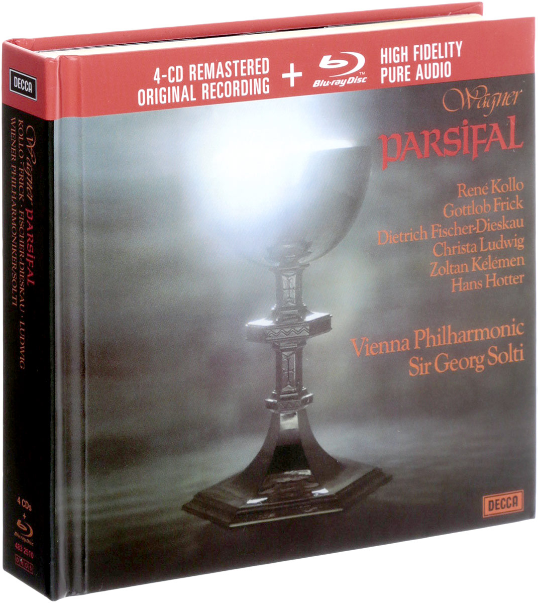 Parsifal -br Audio (4 CD + Blu-ray) soundgarden soundgarden superunknown limited edition 4 cd blu ray audio page 6