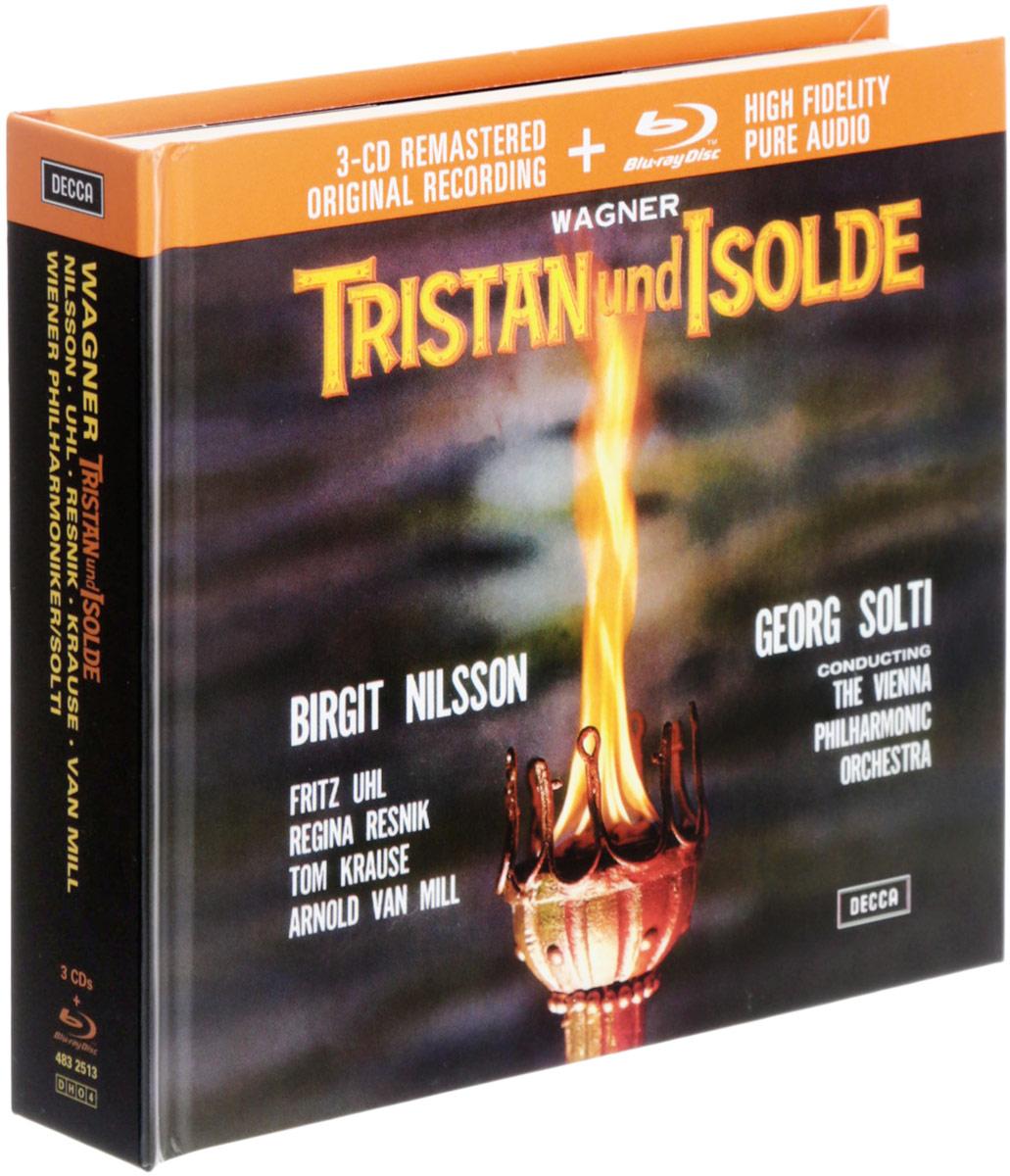 Tristan Und Isolde (4 CD + Blu-ray) драматическая коллекция 4 blu ray