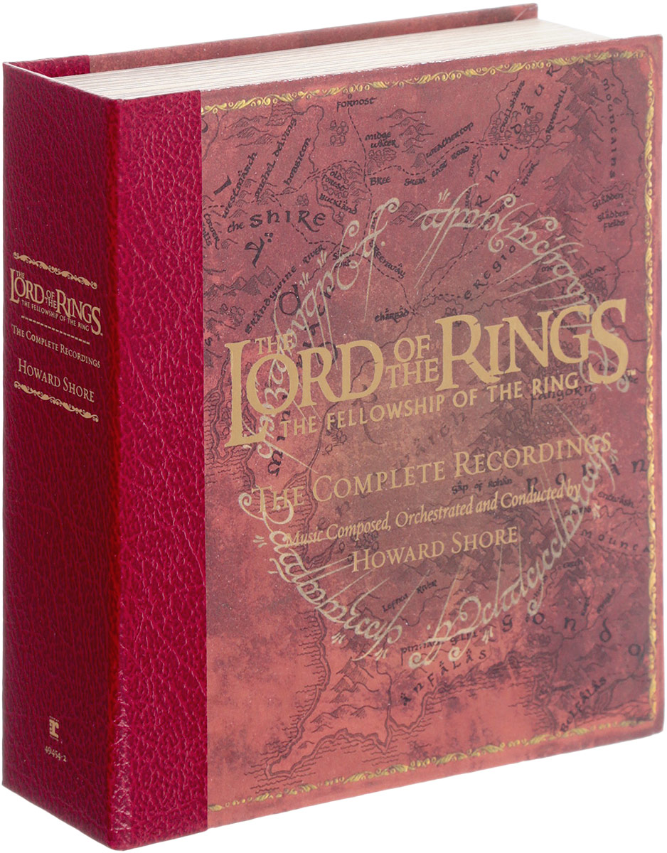 Ховард Шор Howard Shore. The Lord Of The Rings: The Fellowship Of The Ring - The Complete Recordings (3 CD + Blu-Ray) ховард шор howard shore the hobbit an unexpected journey original motion picture soundtrack 2 cd