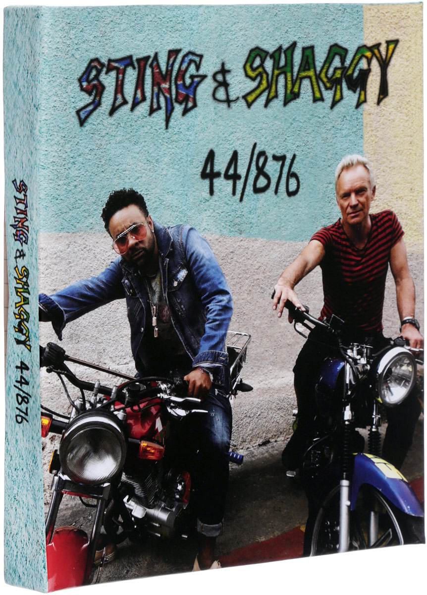 лучшая цена Sting Sting & Shaggy. 44/876 (2 CD)