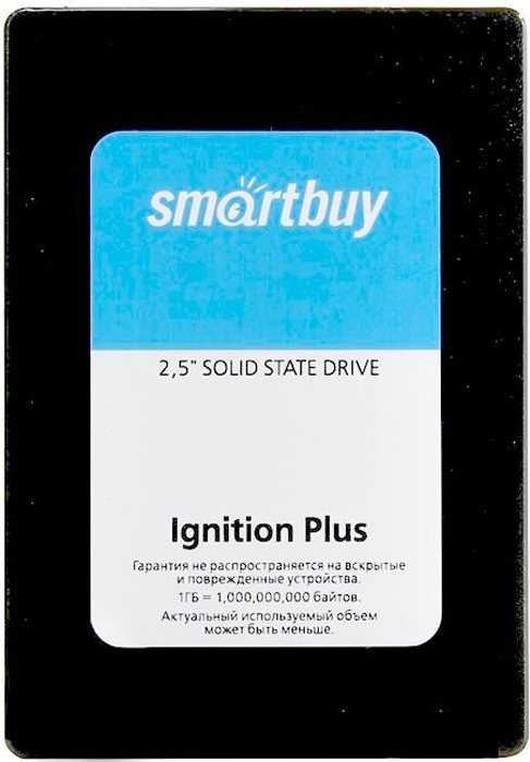 SSD диск Smartbuy Ignition Plus 960GB (SB960GB-IGNP-25SAT3) внутренний ssd накопитель 960gb smartbuy revival 3 sb960gb rvvl3 25sat3 sata3 2 5