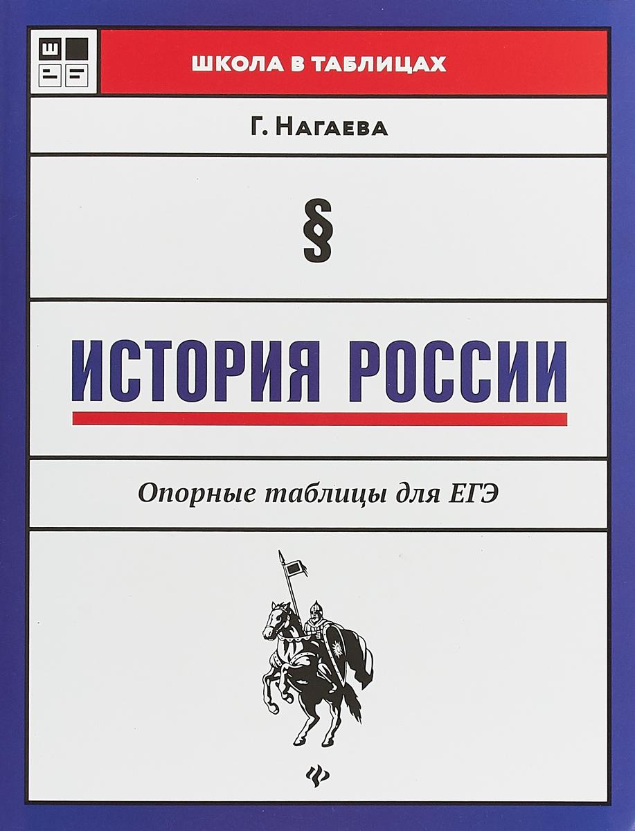 Г. Нагаева История России. Опорные таблицы для ЕГЭ