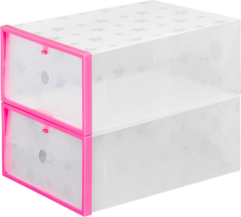 Набор коробок для хранения обуви EL Casa