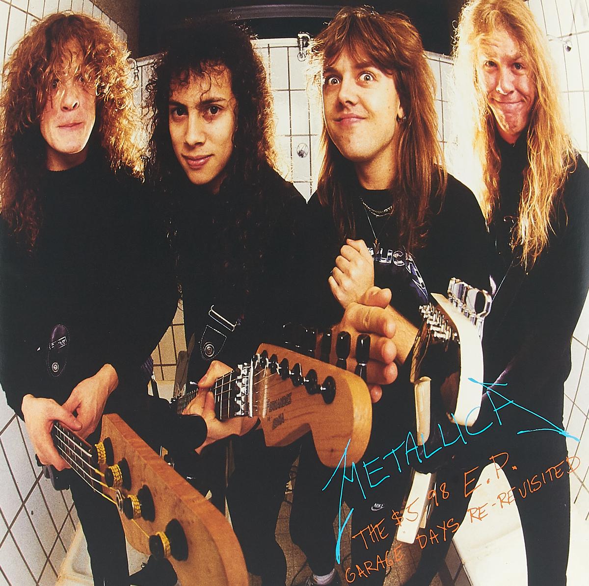 Metallica Metallica. The $5.98 E.P Garage Days Re-Revisited (LP) metallica garage inc