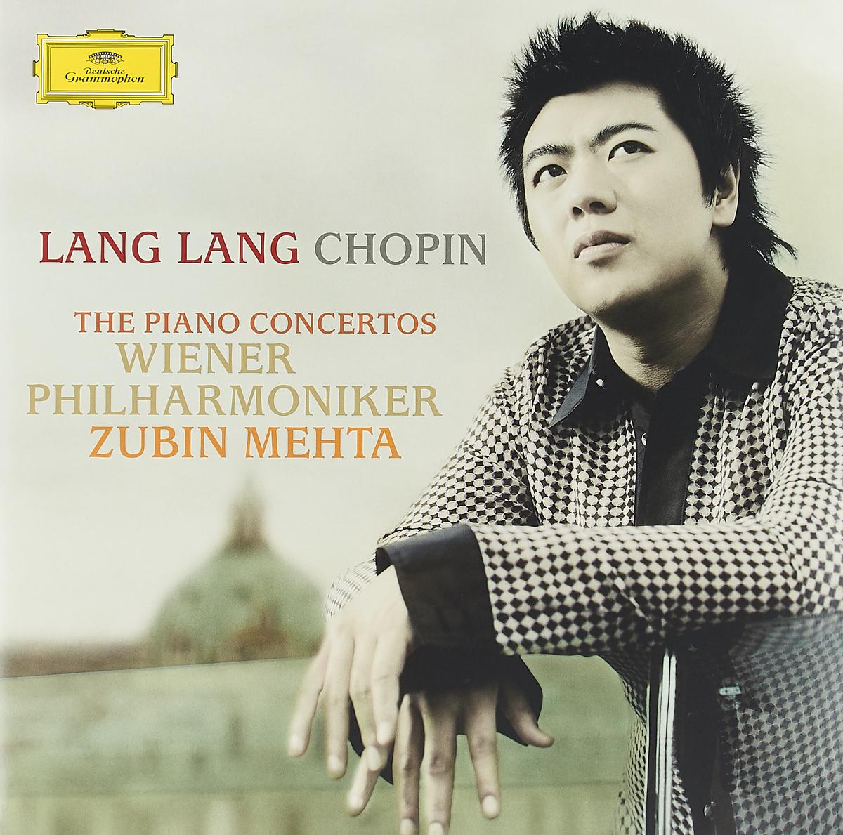 Lang Lang. Chopin: Piano Concerto Nos. 1 & 2 (LP) chopin chopinmartha argerich piano concertos nos 1 2 lp