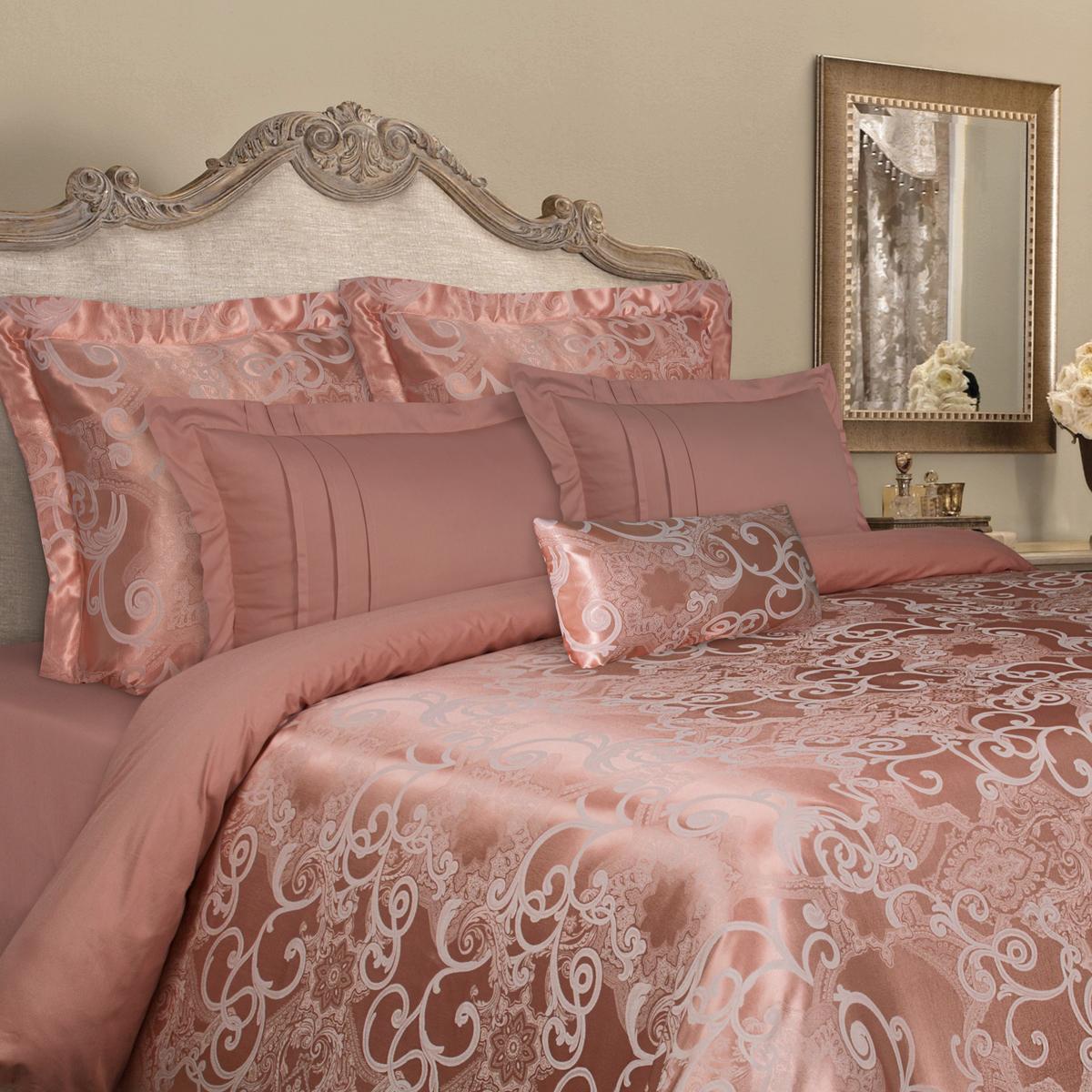 Комплект белья Mona Liza Elite, 2-спальный, наволочки 50х70, 70х70. 5538-24 комплект белья mona liza premium atelier 4 seasons евро наволочки 50х70 70х70 5049 001
