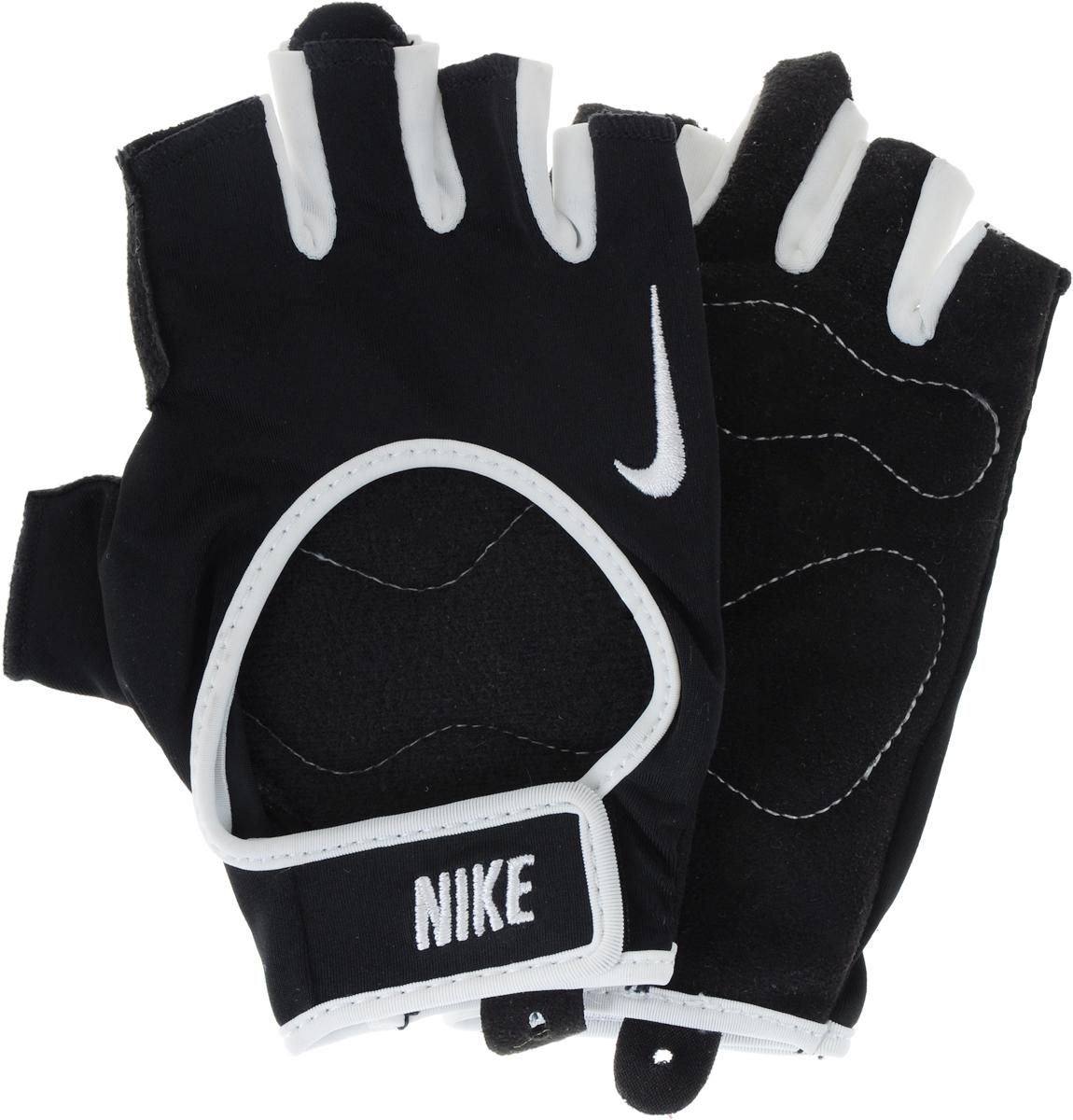 """Перчатки для фитнеса мужские Nike """"Men's Fundamental Training Gloves"""", цвет: черный. Размер XS"""