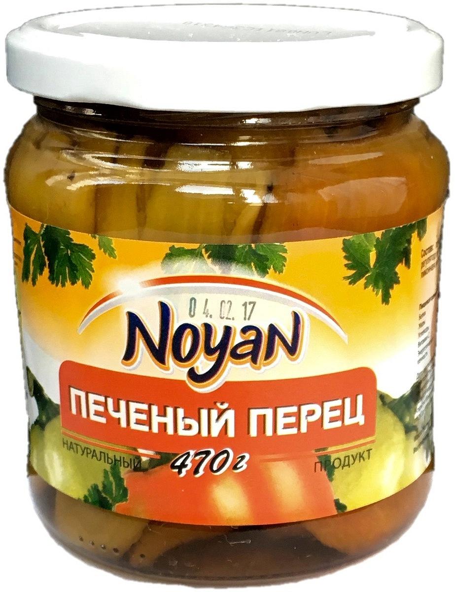 Noyan Печеный перец, 470 г