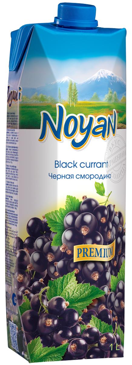 Noyan Черная смородина нектар Premium, 1 л иванов морс черная смородина 1 л