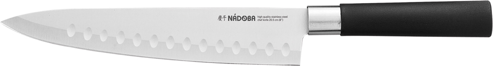 Нож поварской Nadoba Keiko, длина лезвия 20,5 см нож поварской nadoba keiko 20 5 см