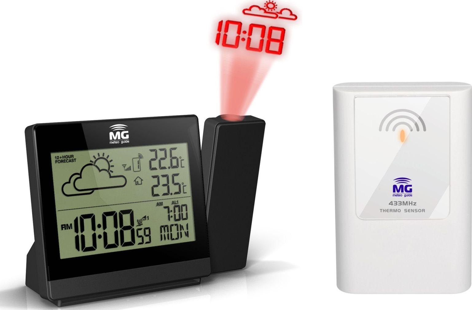 Проекционные часы MG MG