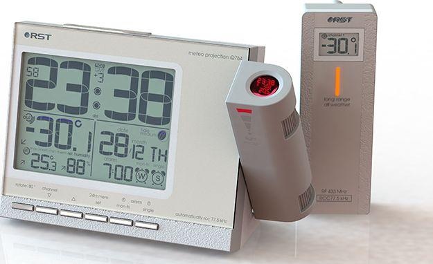 Проекционные часы RST RST