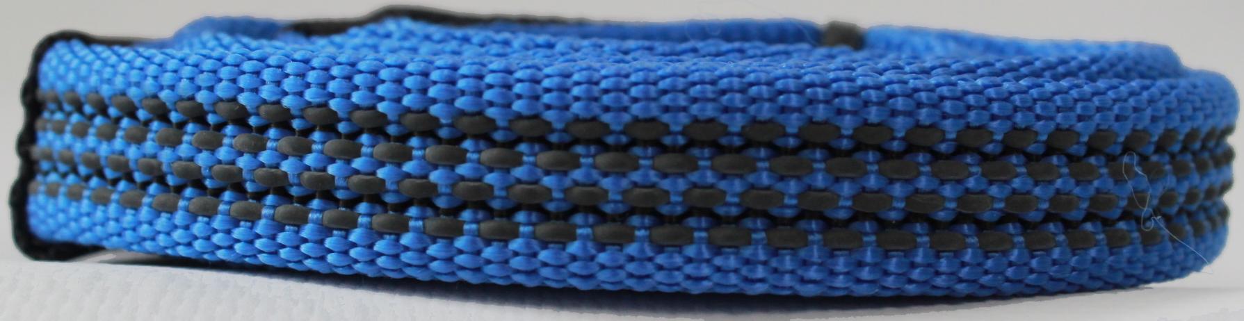 Поводок для собак Happy Friends, плавающий, нескользящий, цвет: синий, ширина 1,5 см, длина 1,20 м поводок водилка для собак happy friends нескользящий цвет синий ширина 2 см длина 0 40 м