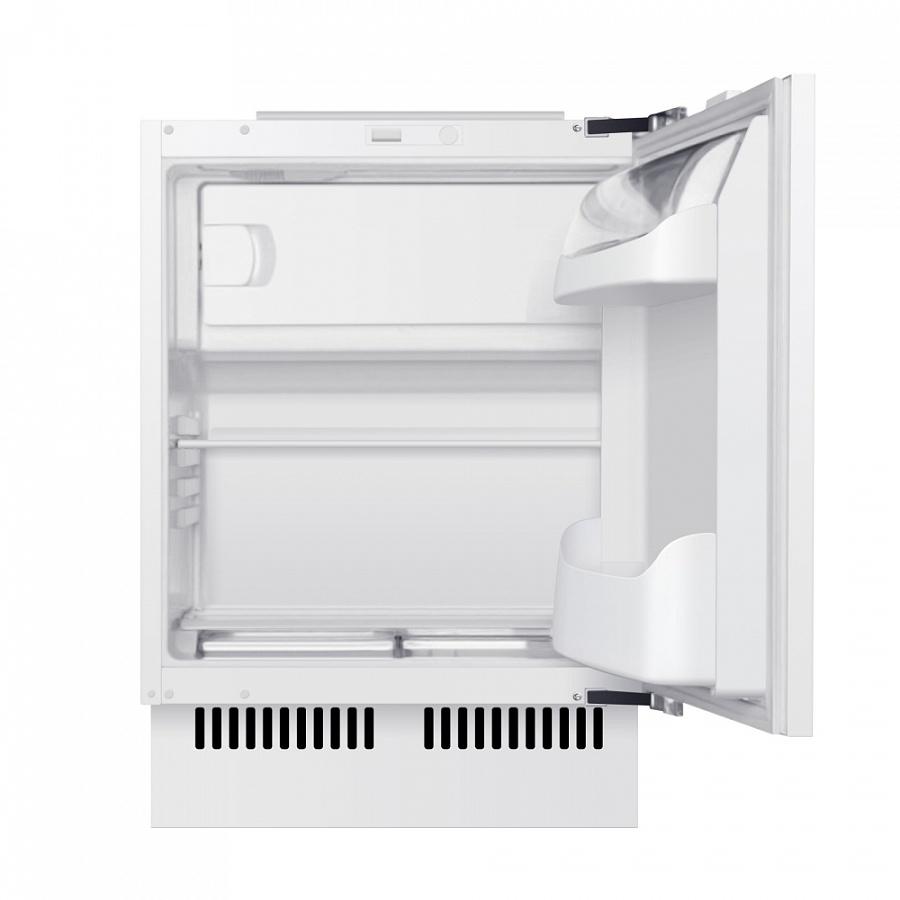 Холодильник встраиваемый однодверный MAUNFELD MBF. 81SCW Внутренние стенки и внутренняя поверхность дверцы холодильников...