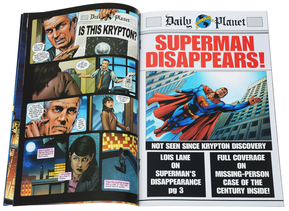 Superman Returns: Prequel№4 Featured Characters: Lois Lane (Flashback and main story) Supporting...