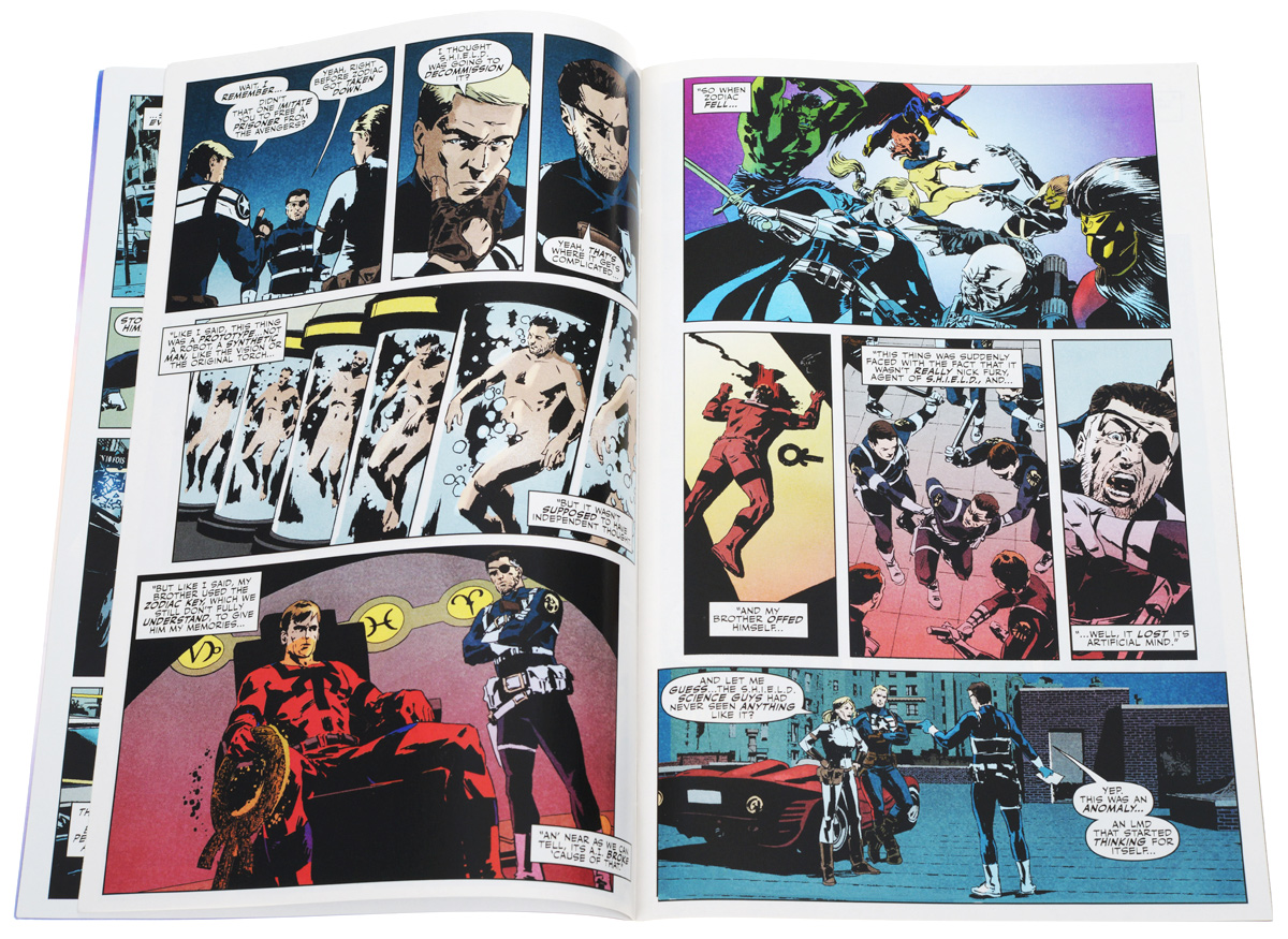Secret Avengers №5 Five years ago in Paris, a man resembling Nick Fury arrested...