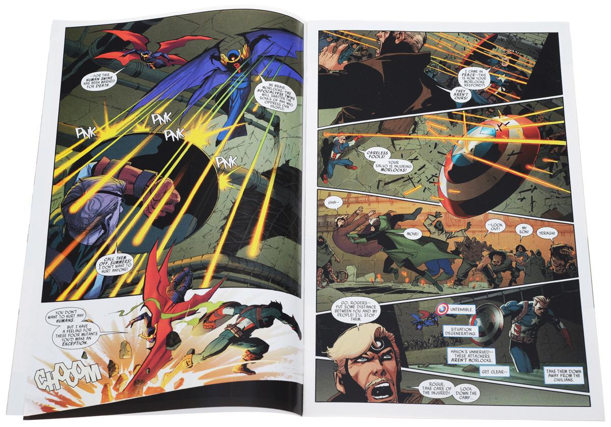Uncanny Avengers №8 AU During the Apocalypse Twins' adolescences, Kang the Conqueror brings...