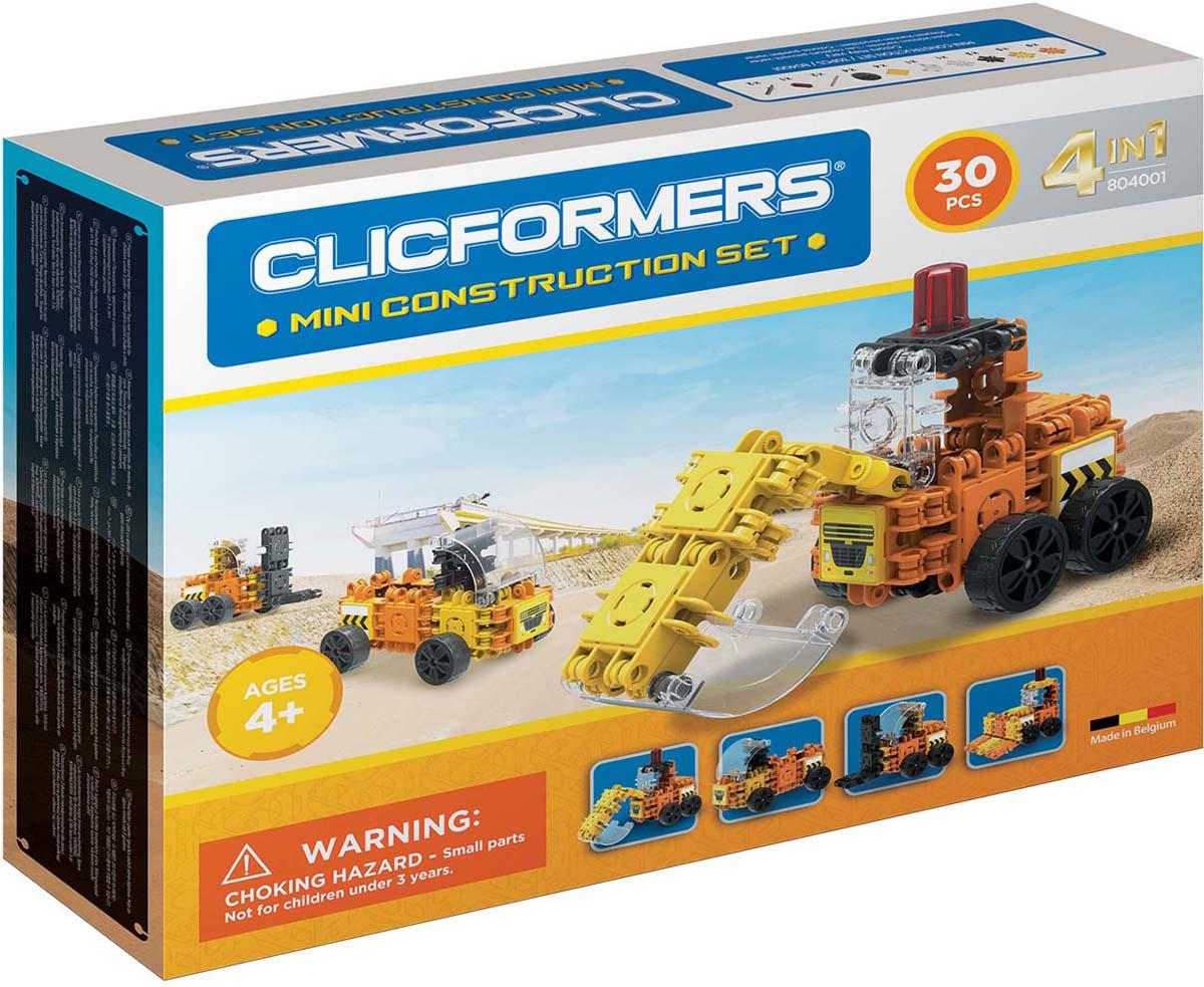 Clicformers Конструктор Construction Set Mini 30 деталей clicformers конструктор clicformers transportation set mini 30 деталей