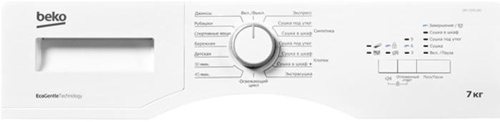 Сушильный аппарат Beko DPS 7205 GB5, белый Beko