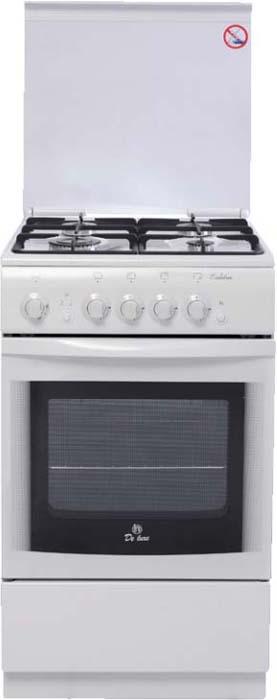 Плита газовая De luxe 5040, White