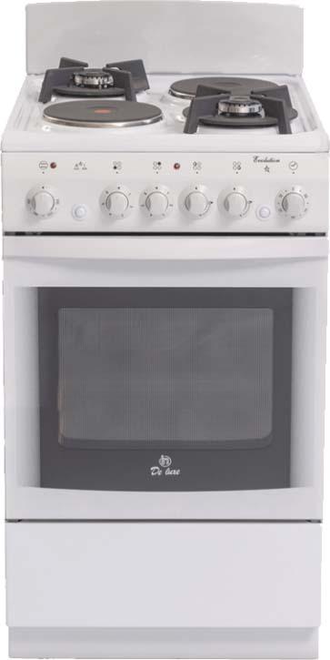 Плита De luxe 506022.04гэ(щ), комбинированная комбинированная плита deluxe 506031 01 гэ крышка