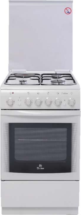 Плита комбинированная De luxe 506031, White цена