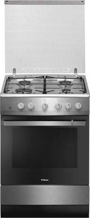 Плита газовая Hansa FCGX61109, Silver цена