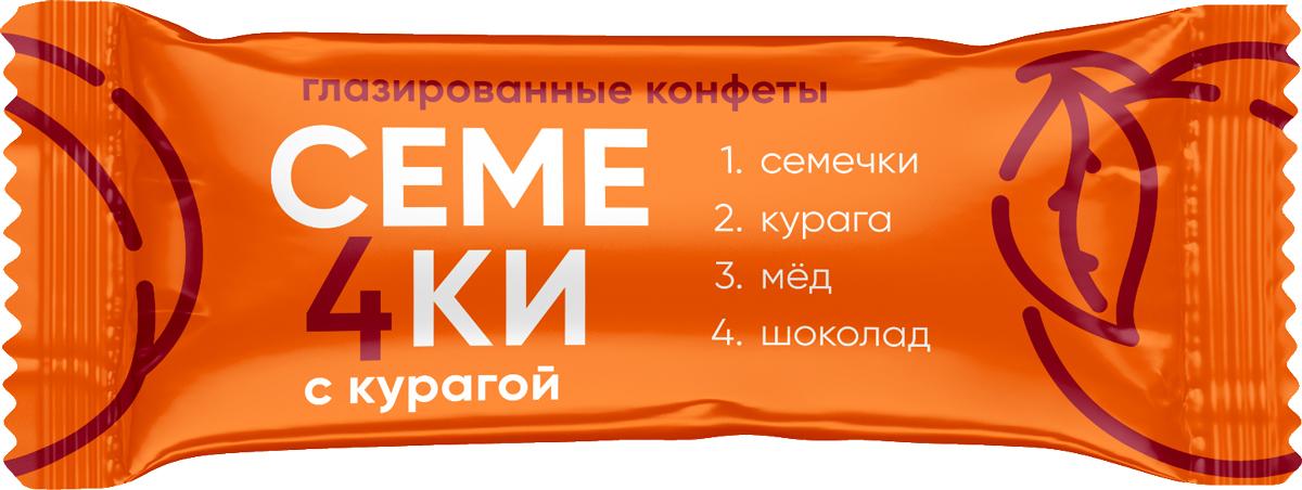 Кондитерская фабрика Богатырь Семе4ки из сухофруктов: с изюмом, семечками, медом и шоколадом, 1 кг