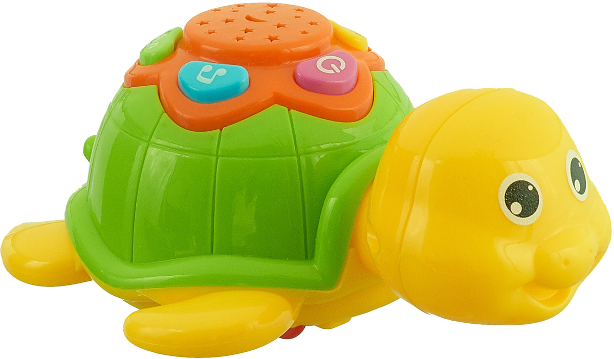 ABtoys Развивающая игрушка Черепашка цвет желтый