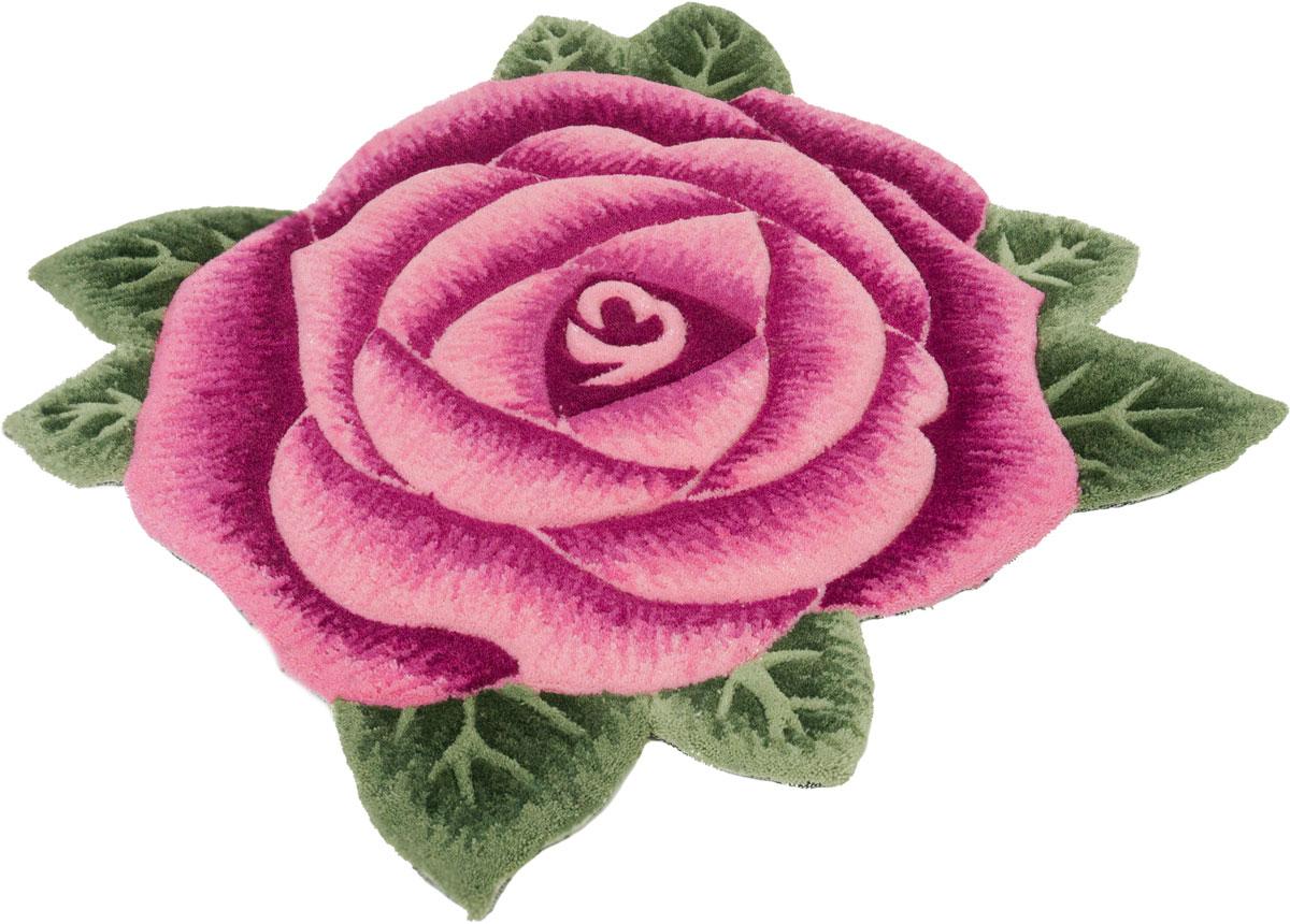 """Ковер """"Madonna"""", круглый, цвет: розовый, 1,0 х 1,0 м. 8ML002/8346"""