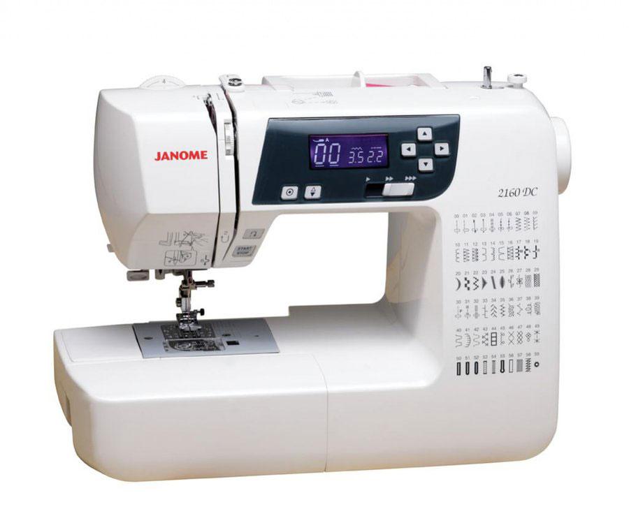 Швейная машина Janome 2160 DC janome dc 2030