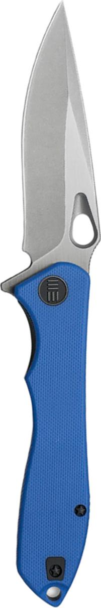 Нож складной We Knife Ignition, цвет: синий, длина клинка 8,75 см