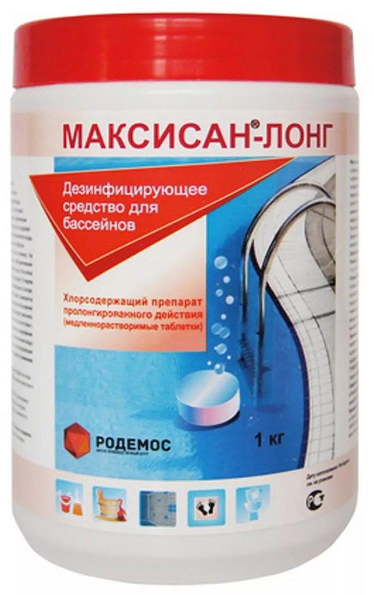 Т аблетки пролонгированного действия для дезинфекции воды в плавательных бассейнах Максисан, 5 шт препарат для комплексной дезинфекции воды в бассейнах акватория дуал эффект комплекс 1 6 л
