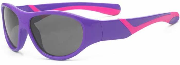 Очки солнцезащитные для малышей Real Kids Discover, цвет: фиолетовый, розовый. 2DISPUPK2DISPUPKСолнцезащитные очки Real Kids Discover для малышей выполнены из качественного материала. Легкая и комфортная оправа выполнена из пластика. Линзы очков не пропускают вредоносные солнечные лучи, повышают контрастность цветовосприятия, не искажают изображение. Рекомендуемый возраст: 2-4 года.