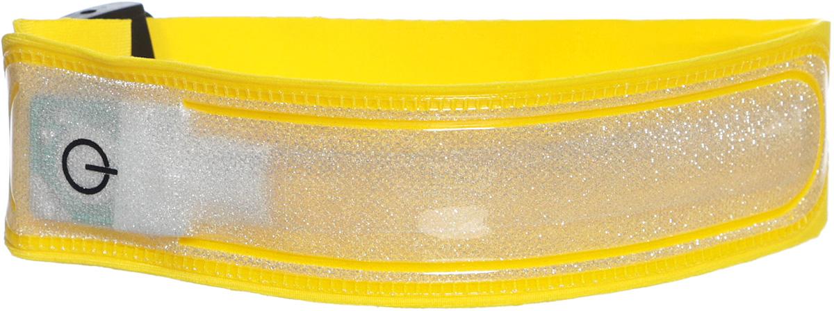 Светодиодный фликер Sport UP, цвет: желтый. IR98053H