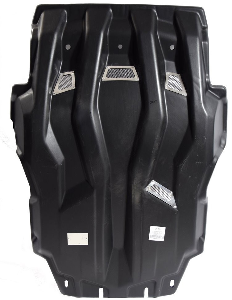 Защита картера, КПП и РК (с сеткой) АВС-Дизайн, для Lexus LX 4WD АКПП 2007-2012 2012-2015 2015-н.в./Toyota Land Cruiser 200 4WD АКПП 2007-2011 2012-2015 2015-н.в., композит 10 мм, крепеж в комплекте