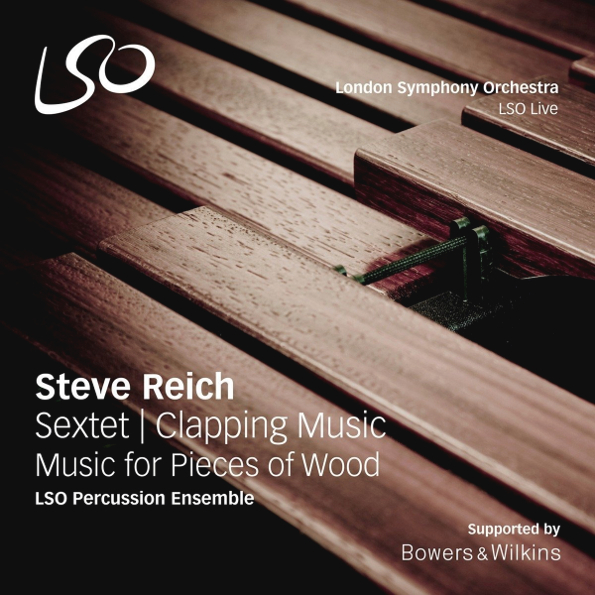 Steve Reich. Sextet / Clapping Music / Music for Pieces of Wood (LP) music for babies