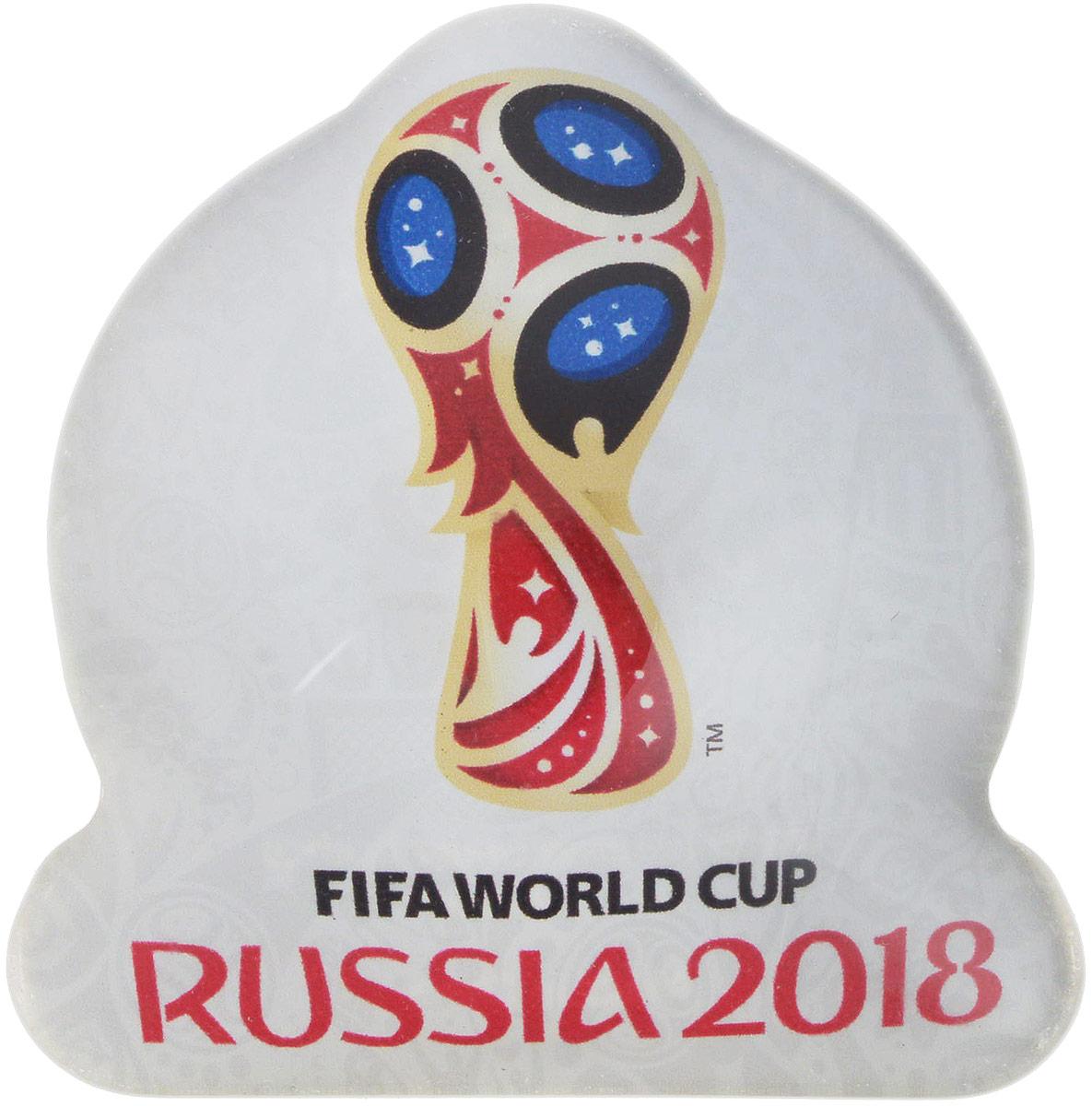 Магнит сувенирный FIFA 2018 Кубок, 5 х 5 см. СН029 магнит сувенирный fifa 2018 кубок 6 х 13 см сн538