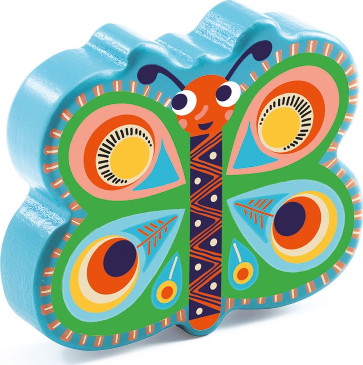 Djeco Музыкальная игрушка Маракас Бабочка музыкальная игрушка play smart маракас разноцветный