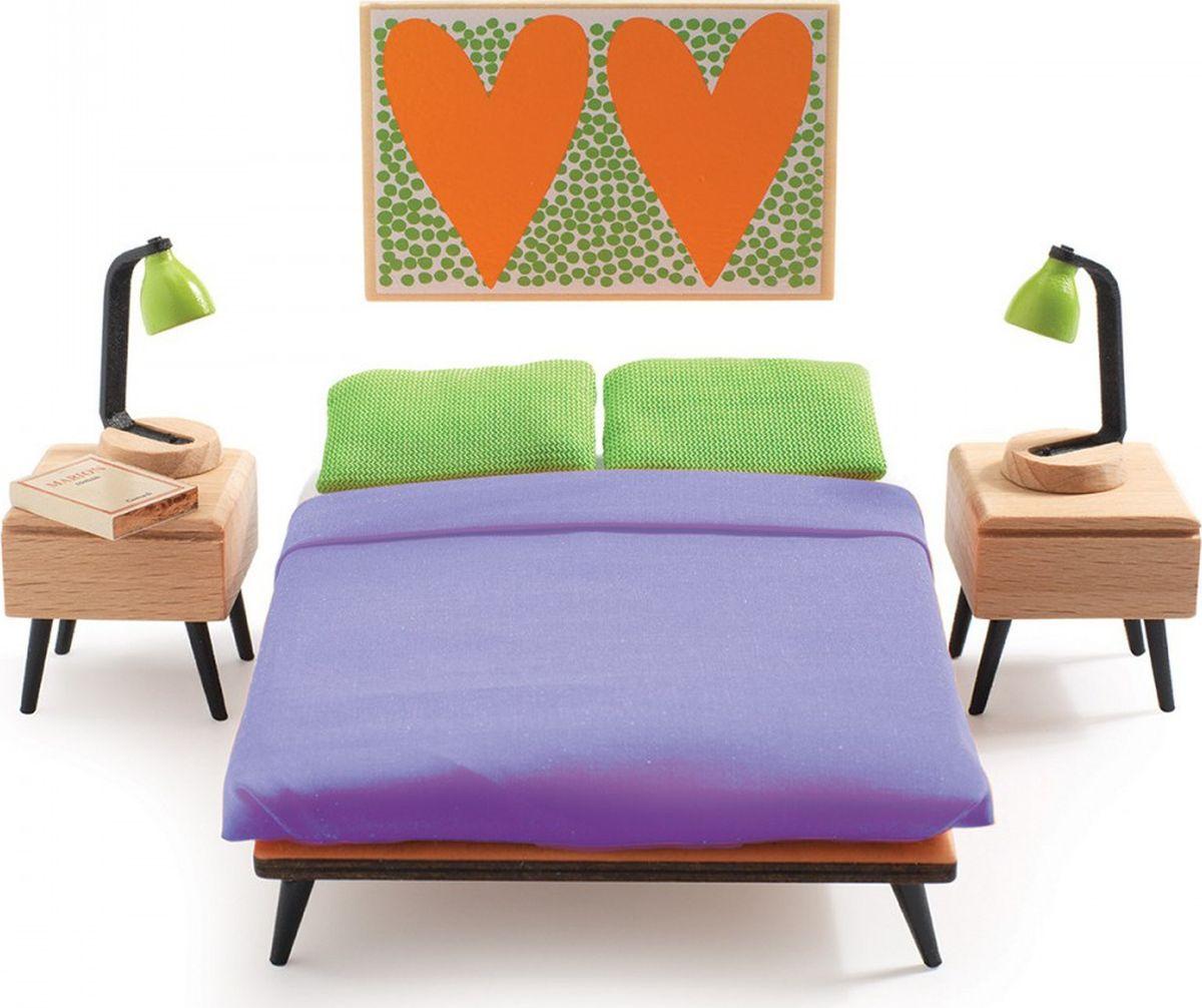 Djeco Мебель для кукол Спальня родителей мебель оптом от производителя