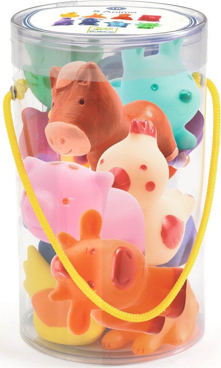 Djeco Набор фигурок Животные на ферме игрушки для детей от 6 месяцев