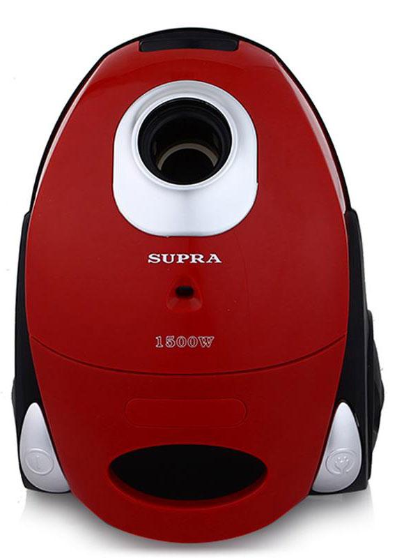 Пылесос Supra VCS-1530, Terra supra vcs 1621 red