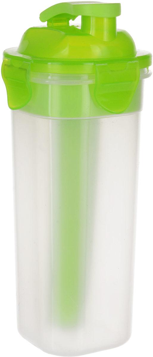 Бутылка Mayer & Boch, с емкостью для льда, цвет: салатовый, 450 мл. 27099
