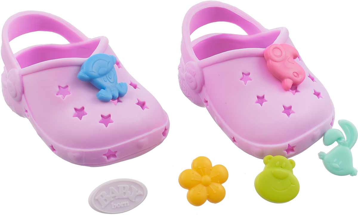 Zapf Creation Сандалии фантазийные для куклы BABY born цвет розовый цена