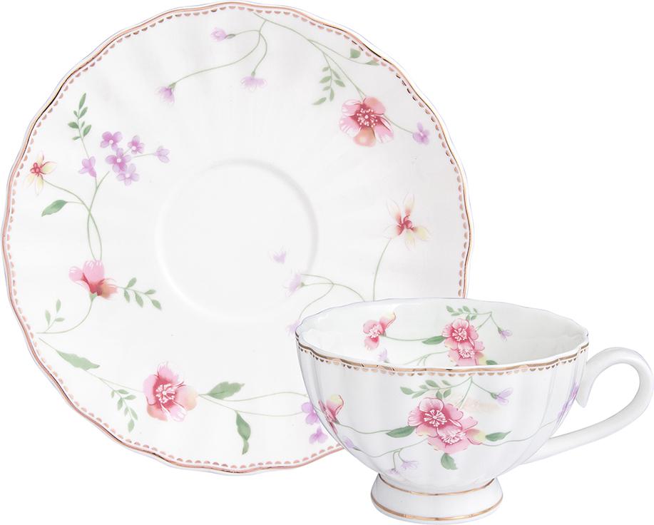 Чайная пара Elan Gallery Диана, 2 предмета наборы для чаепития elan gallery чайный набор диана