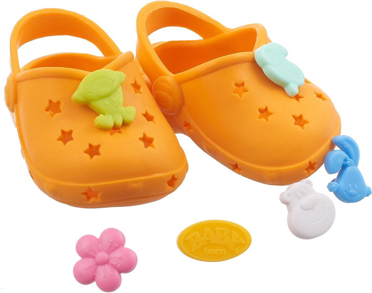 Zapf Creation Сандалии фантазийные для куклы BABY born цвет оранжевый zapf creation сандали фантазийные baby born оранжевые