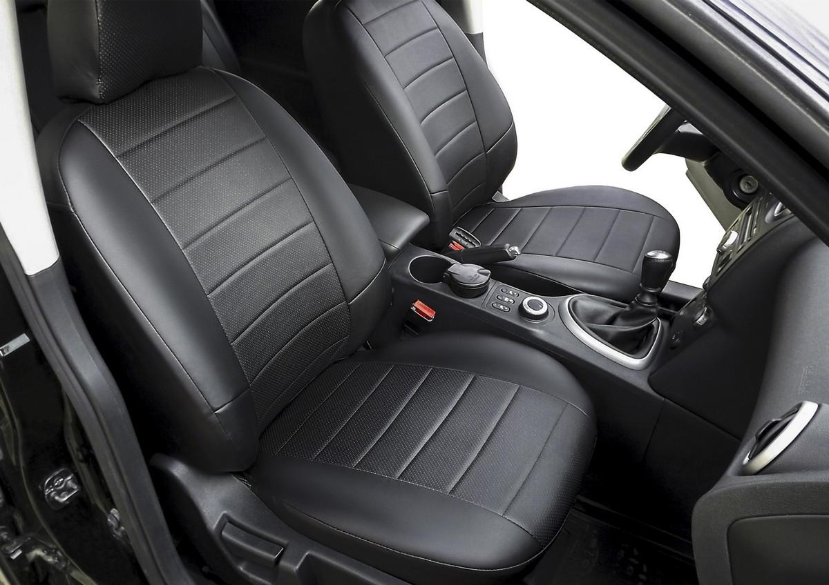 Авточехлы Rival Строчка (спинка 40/60) для сидений Toyota Avensis II седан 2003-2008, эко-кожа, черные. SC.5704.1 авточехлы rival строчка спинка 40 60 для сидений chevrolet cobalt ii седан 2011 н в ravon r4 седан 2016 н в эко кожа черные sc 1002 1